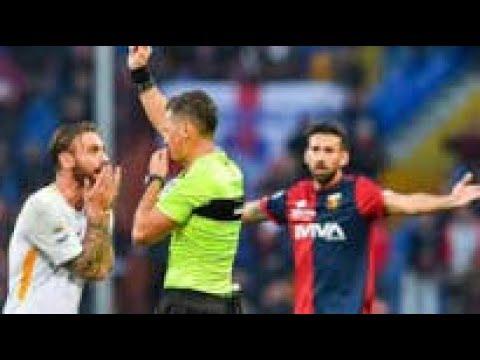 WTF - As Rome : L'expulsio ridicule de Daniele De Rossi