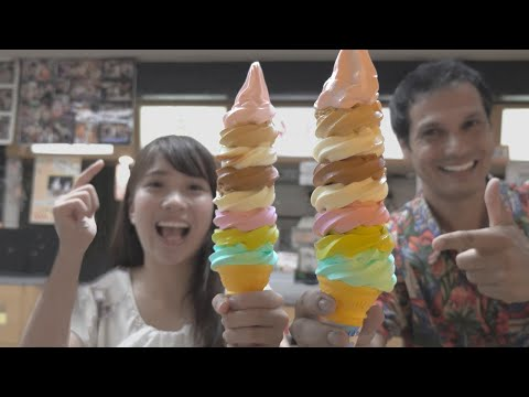 Japanese Ice Cream Flavor Challenge ★ ONLY in JAPAN #34