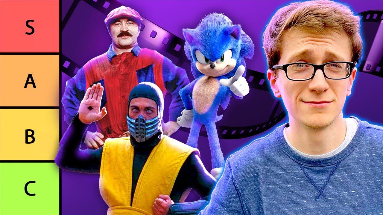 Download Ranking Video Game Movies with Scott the Woz - Cinemassacre