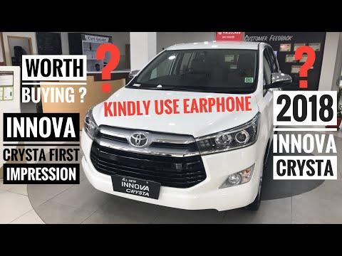 2018 Toyota Innova Crysta | Toyota Innova Crysta Key Features | Toyota Innova Crysta Interior