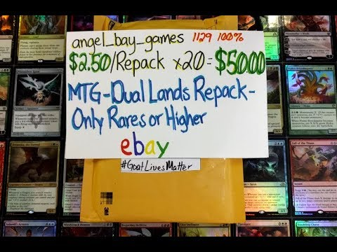 Repeat $10 eBay MTG Repack oh my lord by Bad Boy Gaming - You2Repeat