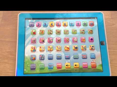 Tablet PC Kids Learning Machine - Touch Type with Light