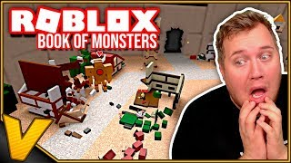 SMADRER HELE BYEN MED KÆMPE ROBOT LLAMA! :: Book of Monsters - Roblox