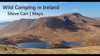 Wild Camping in Ireland - Slieve Carr (Mayo)