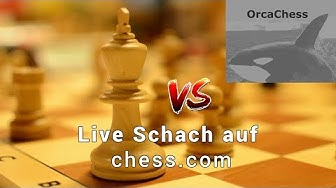 Live Schach auf chess.com | Blitzschach Livestream | Deutsch