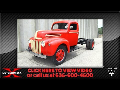 1942 Ford F-5 Cab & Chassis 1 ½-ton Truck || For Sale
