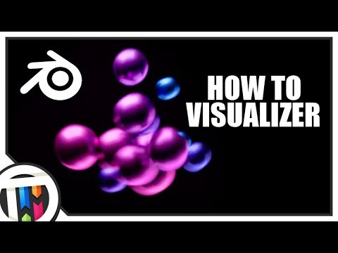 Blender Tutorial - Sphere Music Based Audio Visualizer