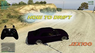 How to Drift GTA V FiveM | Velocity Drift Servers JZX100 |Controller Cam