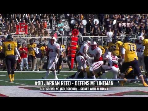 EMCC Defensive Lineman Jarran Reed - YouTube