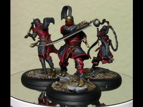 How to Paint Red on Miniatures