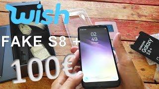 Unboxing FAKE SAMSUNG GALAXY S8+ WISH screenshot 5