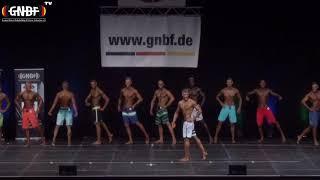 Men`s Physique 3 16. GNBF Deutsche Meisterschaft 2019