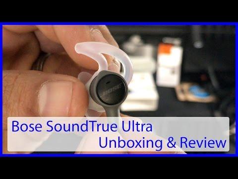 Bose SoundTrue Ultra | Best Sounding Earbuds under $130!