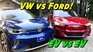 Volkswagen ID 4 vs Ford Mustang Mach E