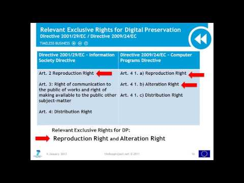 Legal Aspects 2 -  Copyright Overview