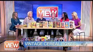 Cereal Box Vintage Photos