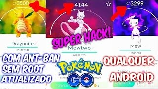 (TUTORIAL) como vc pegar pokemons lendários pokébolas infinitas Android (pokesniper)