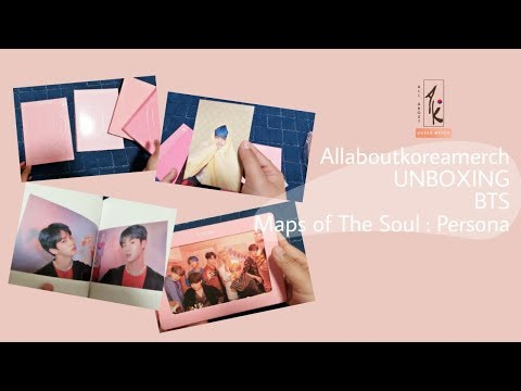 "UNBOXING BTS 방탄소년단 ""PERSONA"" Map Of The Soul Album (Bahasa)"