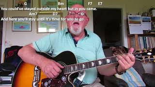 Guitar: Until It's Time For You To Go (Including lyrics and chords)