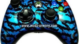 Blue Tiger (Metallic) Xbox 360 Controller | Modz Armory