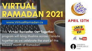Virtual Ramadan Get Together 2021
