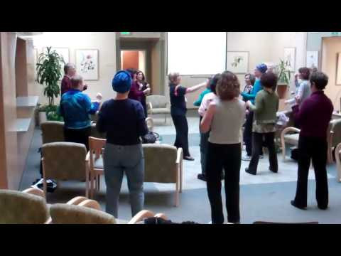 Marin Cancer Institute Laughter Yoga