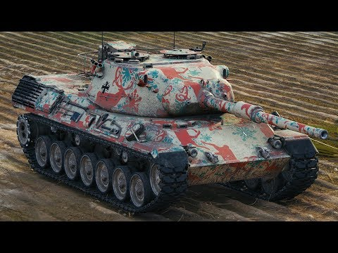 World of Tanks Leopard 1 - 7 Kills 10,3K Damage thumbnail