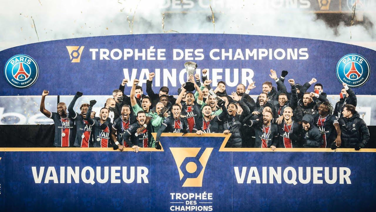 PSG - OM (2-1) : Le résumé du Trophée des Champions 2020 - YouTube
