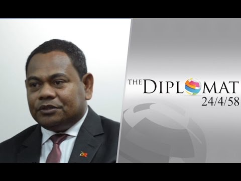 """The Diplomat 24/4/58 : """"Francisco Dionisio"""" Charge d' Embassy of Timor-Leste"""