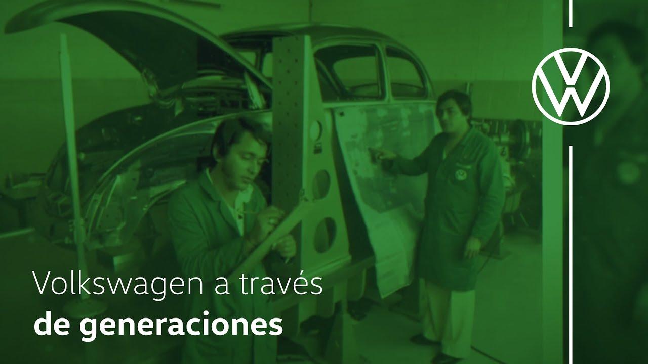 Volkswagen a través de las generaciones