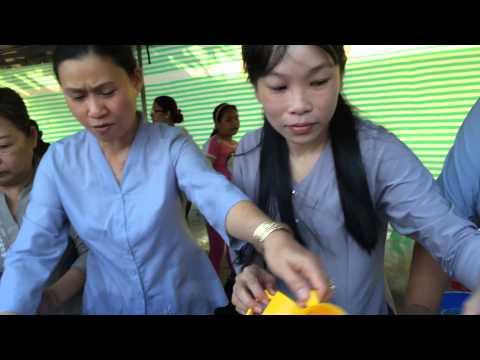 Lễ hội ẩm thực chay tại công viên Tam Giác Tp Vũng Tàu
