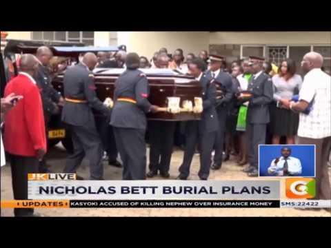 Fallen World Champion Nicholas Bett to be buried Thursday  in Eldoret