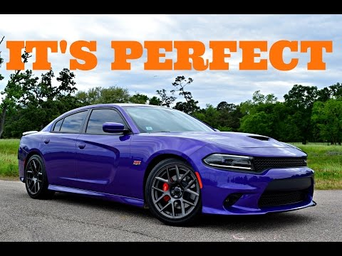 2016 Dodge Charger Scat Pack Performance Driving Review