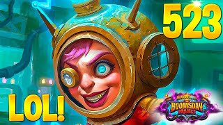 HEARTHSTONE Best Daily FUNNY and WTF Moments 523!