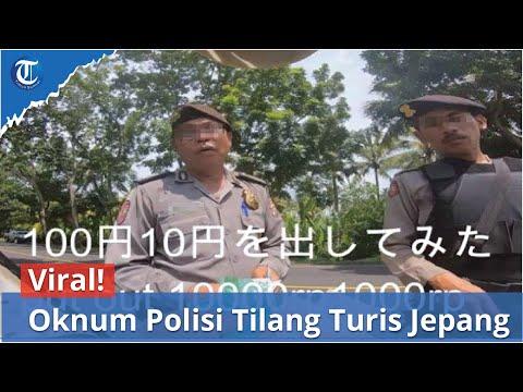 Viral! Oknum Polisi Di Bali Tilang Turis Jepang Minta Rp 1 Juta