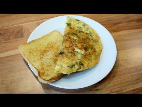 Cheese Omelette - آملیٹ پنیر | पनीर का आमलेट - Paneer ...