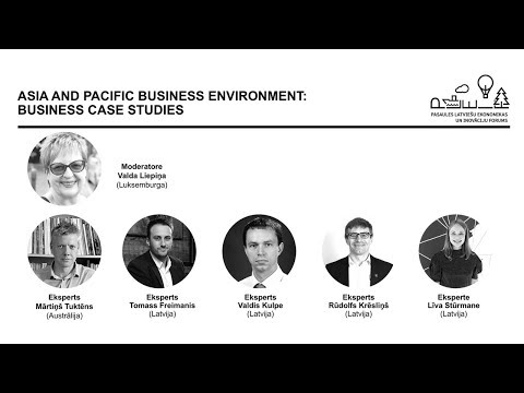 ⇣ ASIA AND PACIFIC BUSINESS ENVIRONMENT: BUSINESS CASE STUDIES