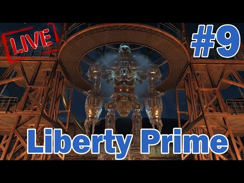 Fallout 4 Live: Part 9 - Liberty Prime