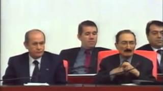 MHP İçel Milletvekili Ali Güngör,Öcalan Terör yasası.(56. hükümeti) MHP'yi yerden yere vuruyor.!