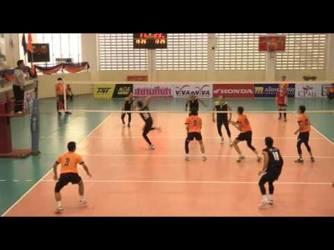 Volleyball กีฬาแห่งชาติ // วอลเลย์บอลชาย สุพรรณบุรี (ส้ม) vs อุบลราชธานี