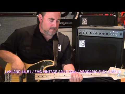 Ampeg BA-112 - Sound Clips