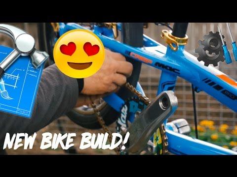 NEW BMX BIKE BUILD (Crisp bros racing/mac components)