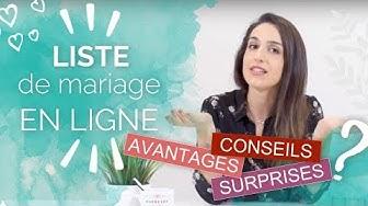 LISTE DE MARIAGE en ligne 🎁 Comment ça marche ?