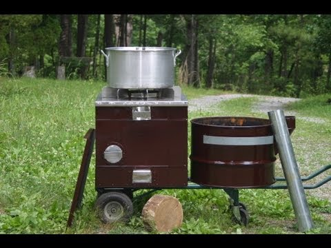 Amazing New Improved Biomass Cooking Stove Cooks Outdoor In the Rain