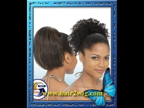 Milky Way Indian Hair Wet And Wavy Ponytail