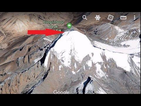 Download Mount Kailash Top View - Mount Kailash From Satellite - Kailash Parvat from Top - Kailash Parvat