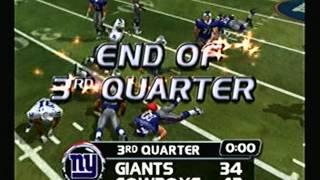 NFL Blitz 2003 - Dallas Cowboys at New York Giants (2nd Half)