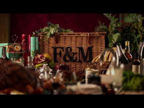 Video for Nothing announces Christmas like a hamper from Fortnum & Mason
