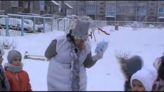 Прогулка-развлечение со Снеговиком