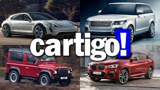 Cartigo! #38 - Mission E Cross, SV Coupe, Defender Works V8, X4, M8 e M4 30jahre | ApC